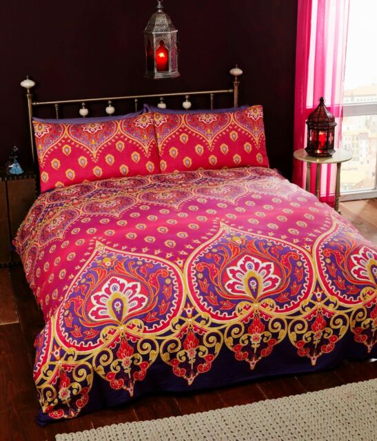 Moroccan Pattern Duvet Cover Sweetgalas