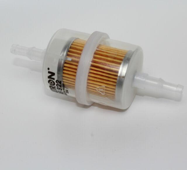 Benzinfilter Kraftstofffilter Universal 6mm + 8mm Leitungsfilter Filter Benzin