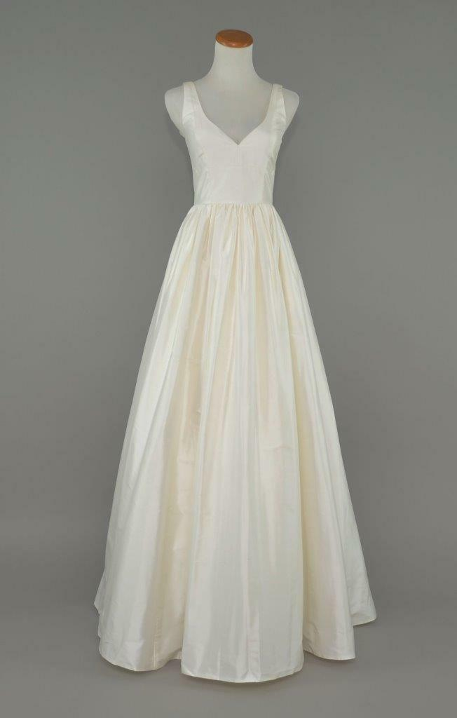 J.CREW 150 Karlie Silk Dupioni Wedding Ball Gown 0 Ivory Bridal ...