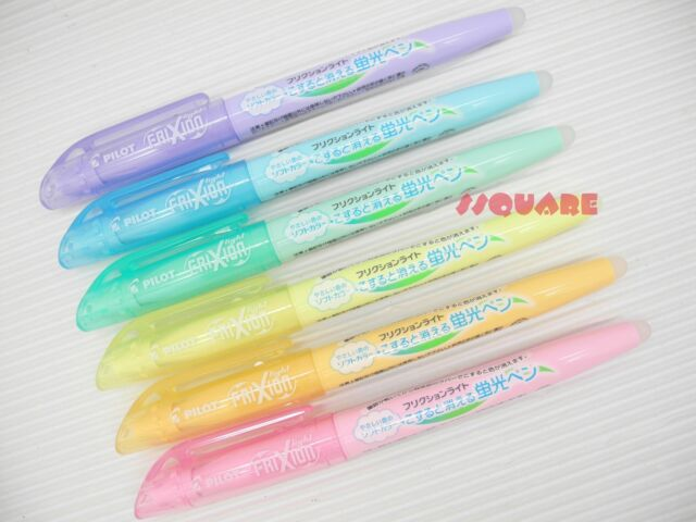 Java Duplex Mild Liner Soft Pastel Color Highlighter Pen Marker 6 Color Pack