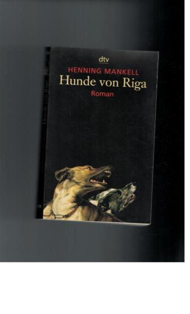 Henning Mankell - Hunde von Riga  - 2002
