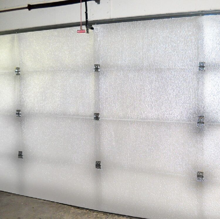 Supershield Reflective White Single Car Garage Door Insulation Foam