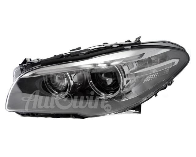 BMW 5 SERIES F10 LCI F11 BI XENON HEADLIGHT ADAPTIVE LEFT SIDE ORIGINAL NEW