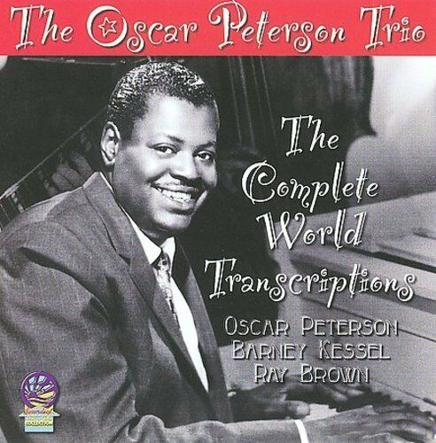 OSCAR PETERSON TRIO - THE COMPLETE WORLD TRANSCRIPTIONS NEW CD