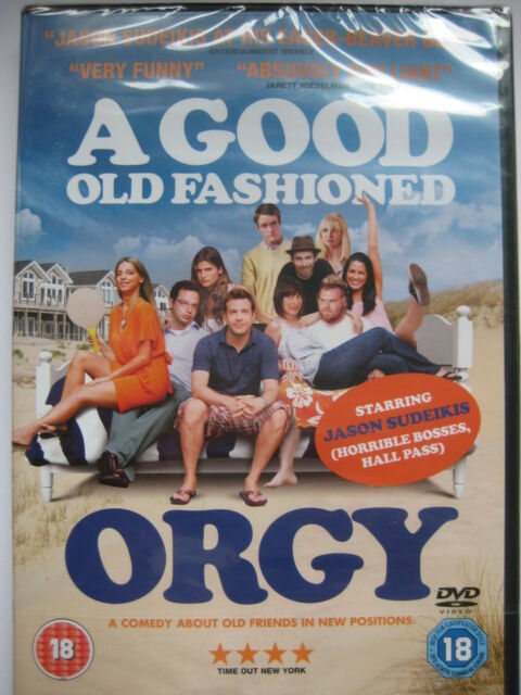 A Good Old Fashioned Orgy. Jason Sudeikis (DVD 2012) NEW SEALED Region 2 PAL
