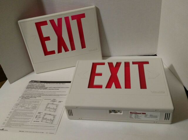 Cooper Lighting Sure Lite Ccx Contractor S Choice Led Exit Sign Ccx7070rwhsd