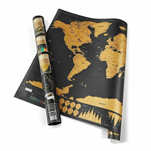 Big deluxe travel edition scratch off world map poster resntentobalflowflowcomponenttechnicalissues gumiabroncs Image collections