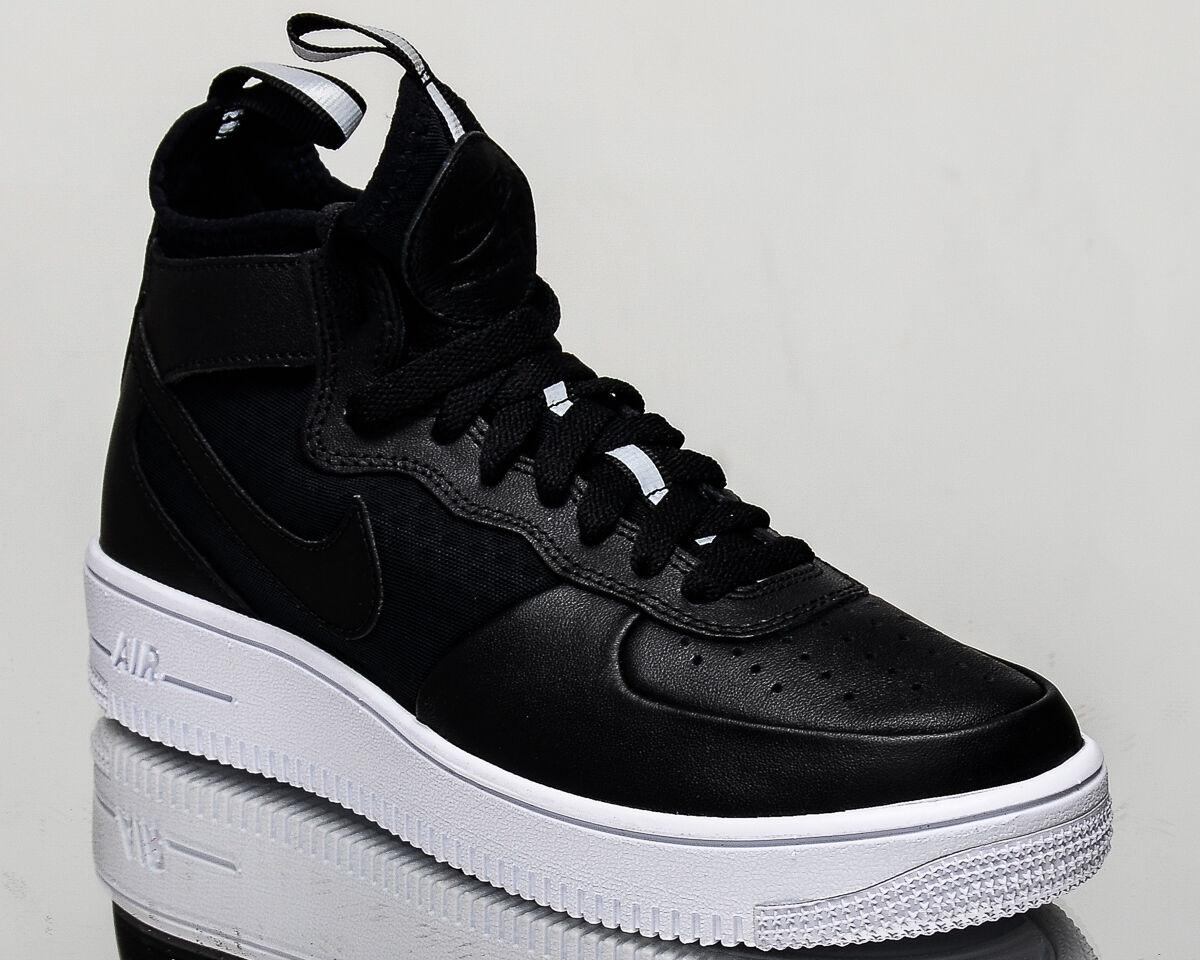 Femmes Nike Air Force 1 Mi Ultra De Force - Noir / Gomme Nouvel Équilibre vente en Chine fDW257T