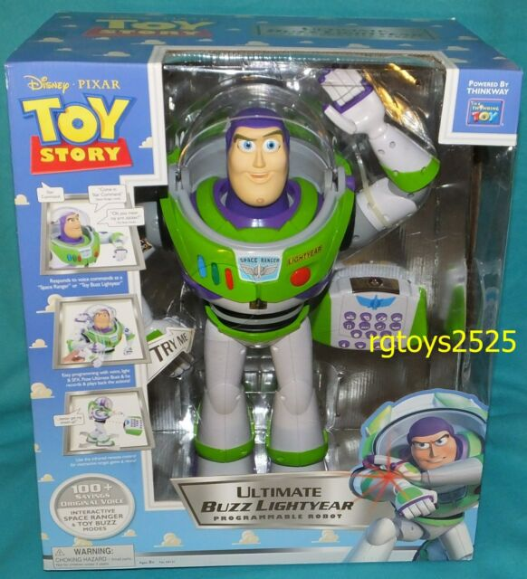 ultimate buzz lightyear programmable robot manual