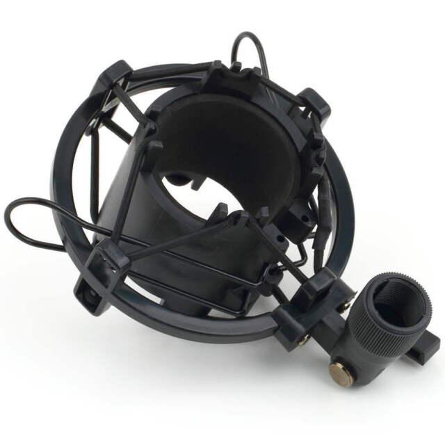 Universal Mic Microphone Shock Mount Clip Holder Studio Sound Recording TG