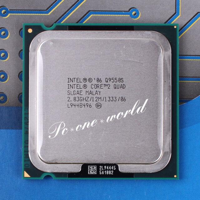 100% OK SLGAE Intel Core 2 Quad Q9550S 2.83 GHz Quad-Core Processor CPU LGA 775