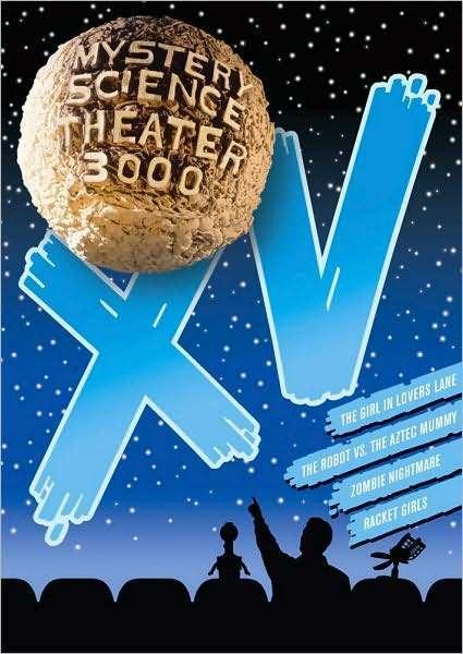 MYSTERY SCIENCE THEATER 3000: XV (Trace Beaulieu) - DVD - Region 1 Sealed