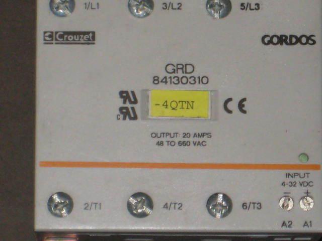 Crouzet Gordos Solid State Relay Grd 84130310 eBay