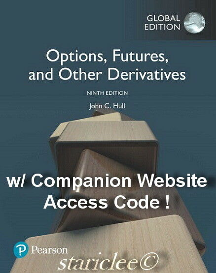 NEW Options, Futures and Other Derivatives 9E John C. Hull (Mixed Media Product)