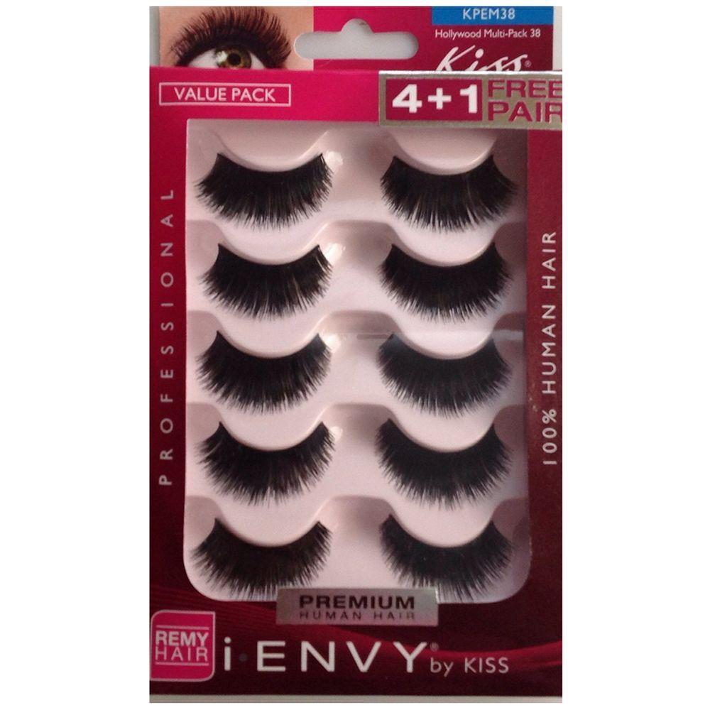 49139d1b898 Kiss I.envy Multi-pack Professional Eyelashes Kpem38 for sale online ...