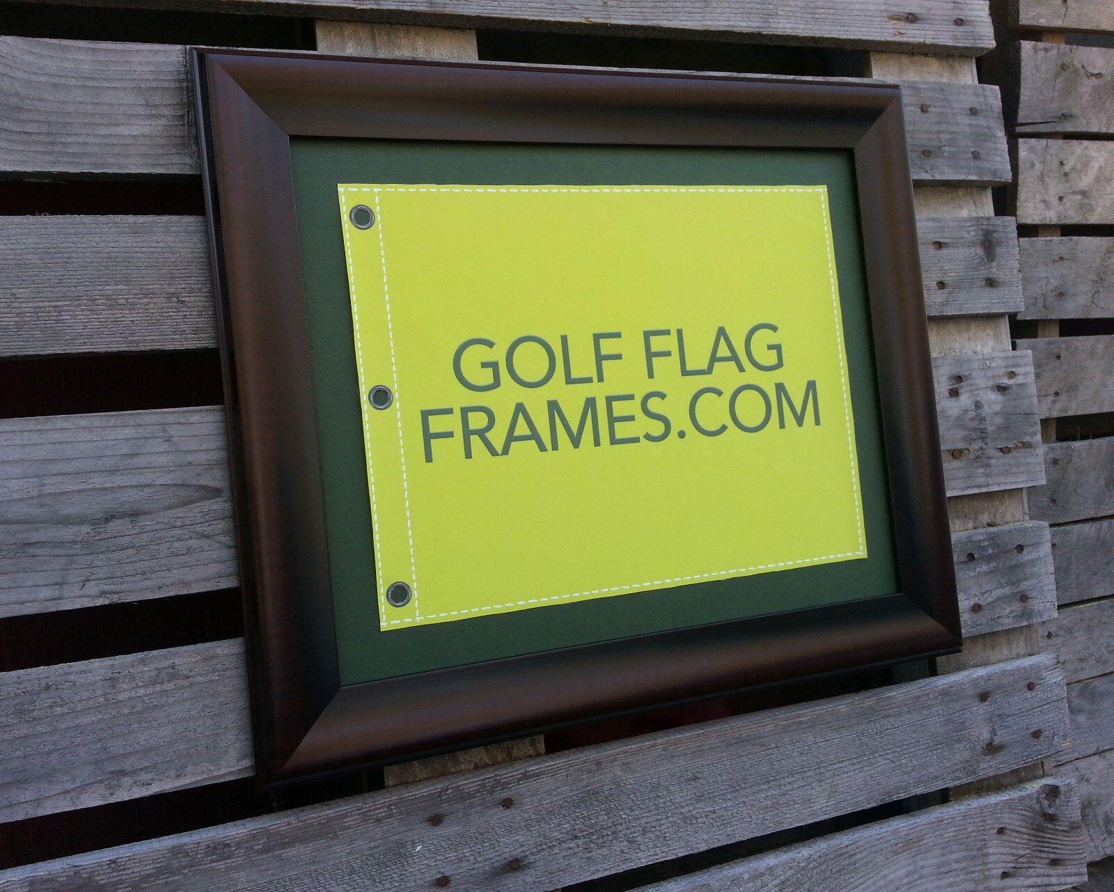 17x23 Brown Flag Frame Brn-003 Holds 14x20 PGA US Open Flag Flag Not ...