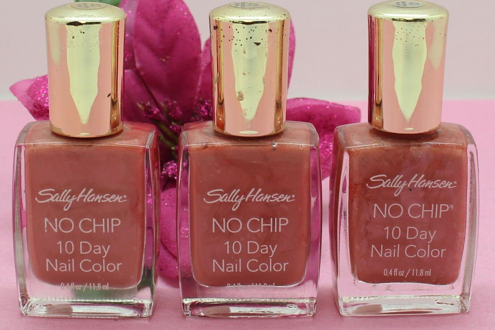 Sally Hansen No Chip 10 Day Nail Color Nonstop Nude 41 | eBay