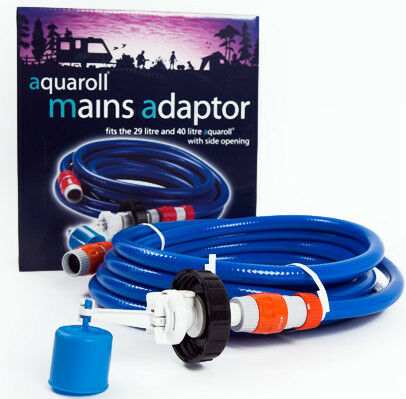 Genuine Aquaroll Mains Adaptor Kit - Caravan / Motorhome  FL HITCHMAN