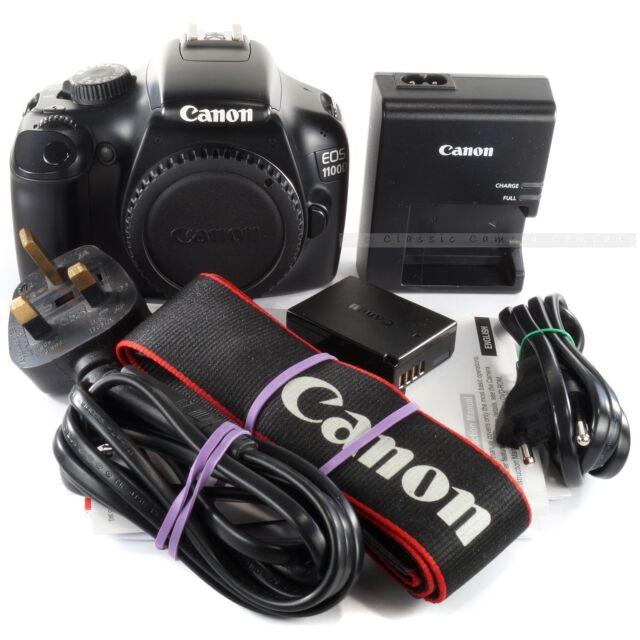 Canon EOS 1100D Body only / 12.2 MP Mega Pixels DSLR camera