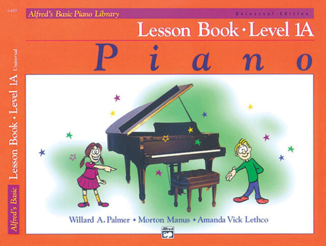 Alfred's Basic Piano Lesson Book 1A; Palmer, Manus & Lethco. - 6489
