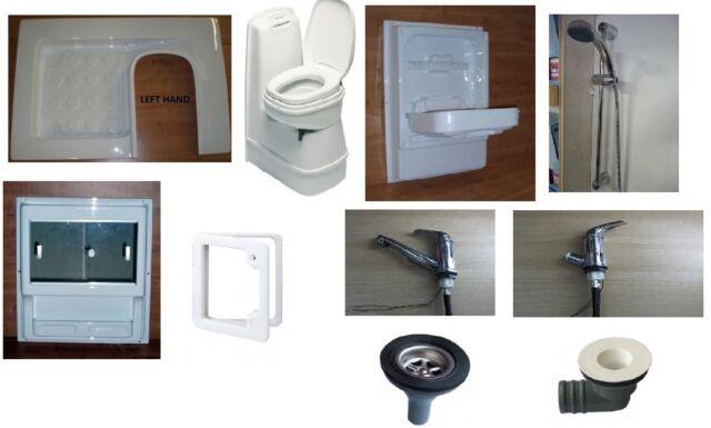 Campervan Shower Room Kit A Left Hand C200CW Toilet Ideal For Van Conversion