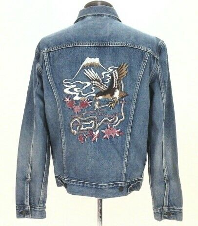 Gucci Embroidered Butterfly Denim Jacket   Gucci Floral Embroidered Denim  Jacket
