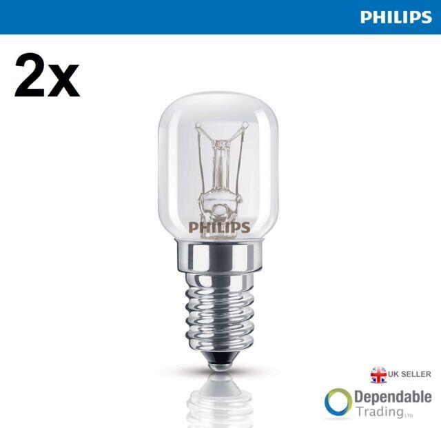 2 x 15w Philips E14 SES Four Ampoule De Lampe 300oC Degrés Haute Qualité