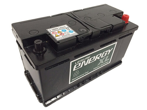 12V 110Ah Deep Cycle Premium Leisure Battery, Caravan, Motorhome, Boat, Marine