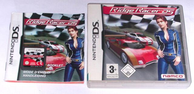 Spiel: RIDGE RACER RENNSPIEL für den Nintendo DS + Lite + Dsi + XL + 3DS