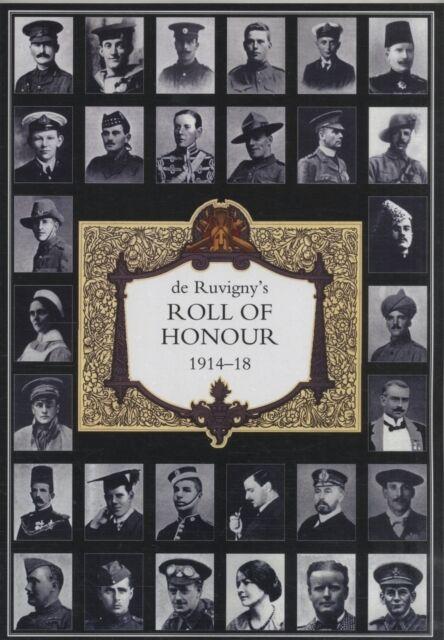 DE RUVIGNY'S ROLL OF HONOUR 1914-1918 INDEX (Paperback), Gary Buc. 9781847347084