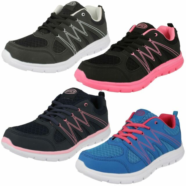 Adults Airtech Lace Up Trainers  Sabre