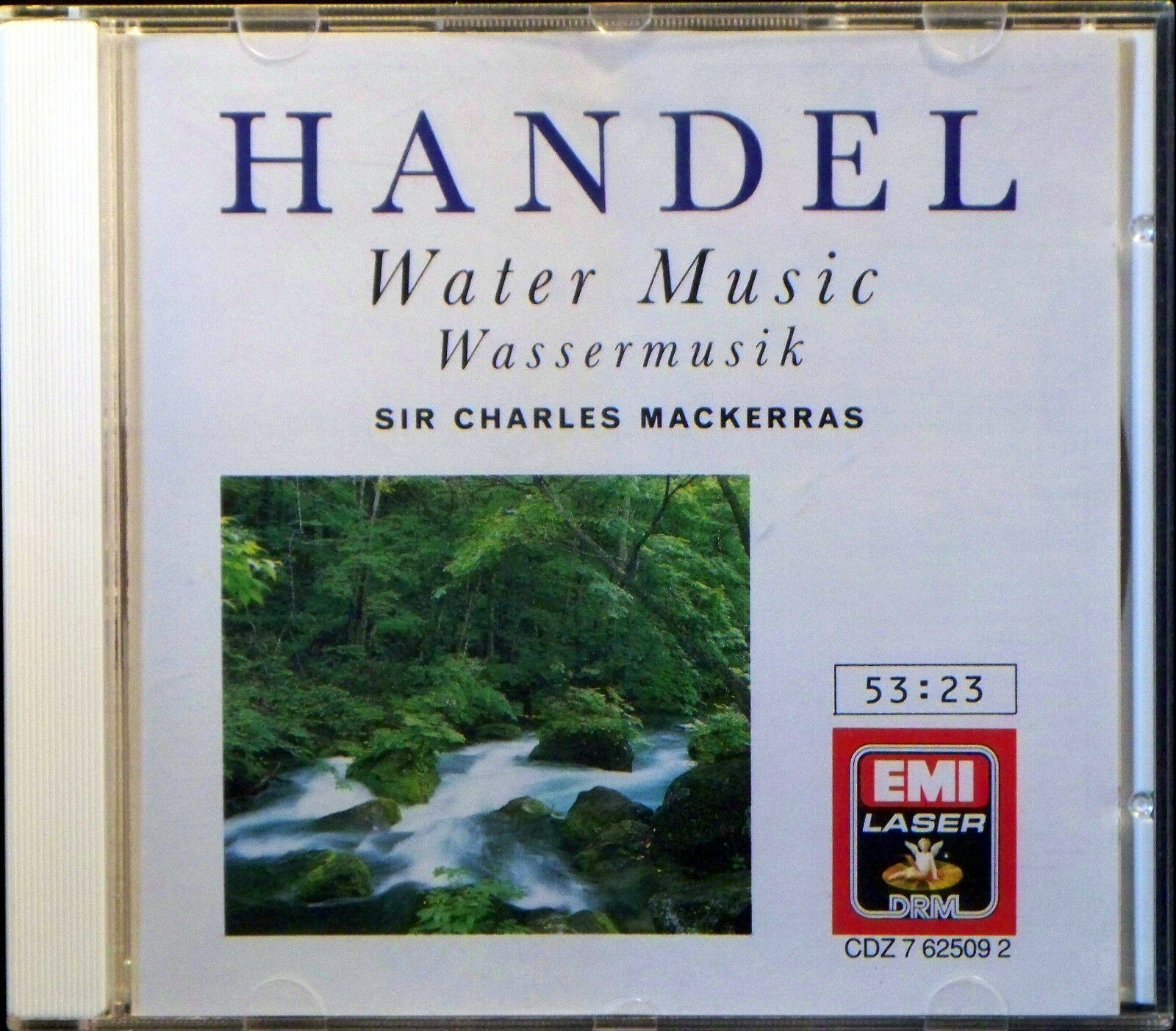 Handel: Water Music (CD, EMI Music Distribution) | eBay