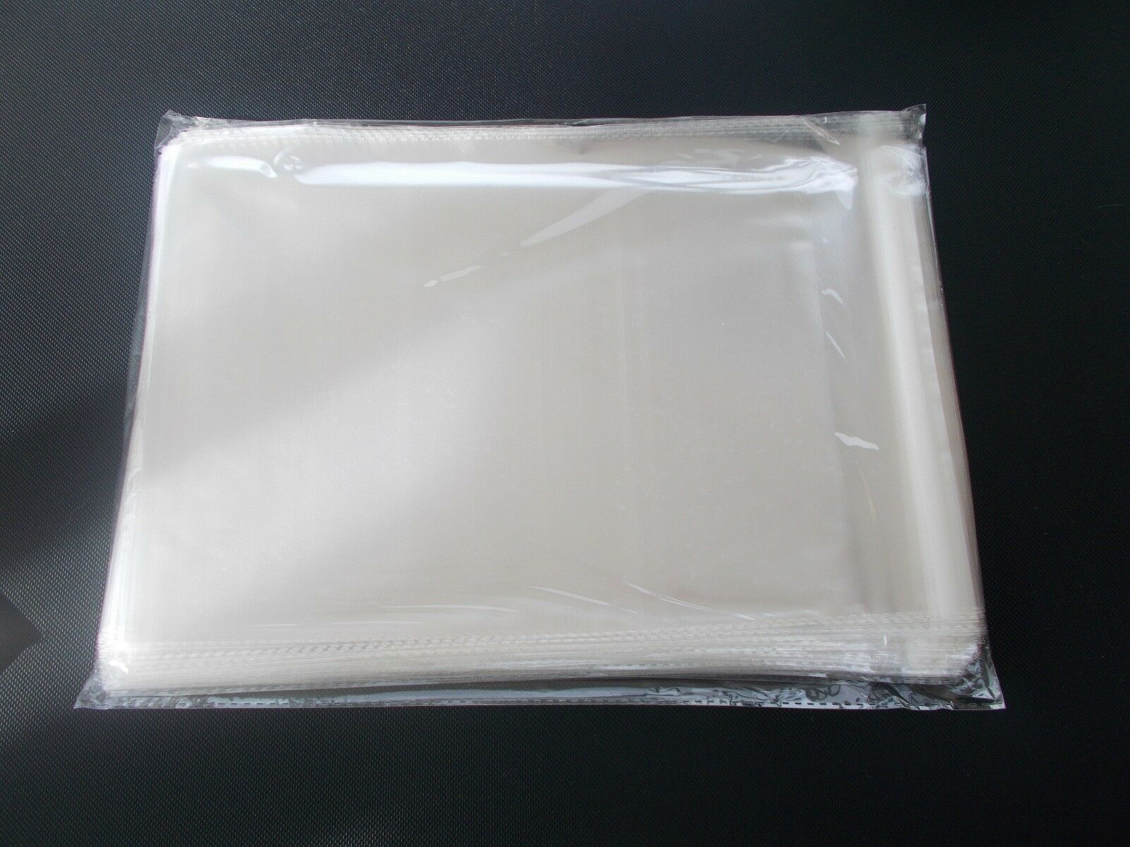 100 5 X 7 Clear Resealable Cello Bag Plastic Envelopes Bags Sleeves