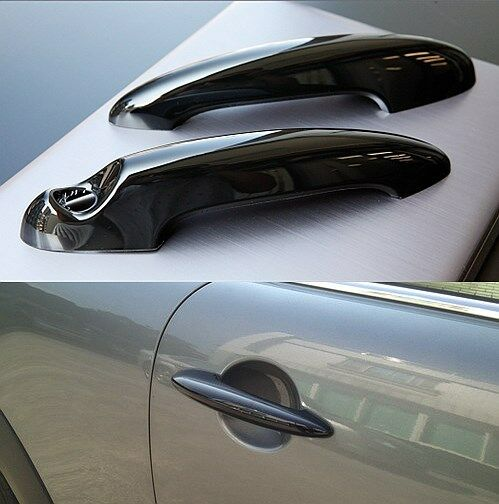 USA Stock 2x Gloss Black Door Handle Cover for Mini Cooper S R50 R53 ...