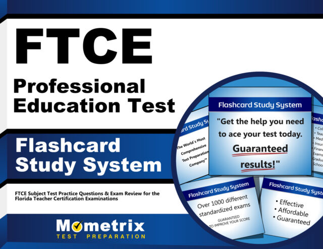 FTCE Professional Education Test Flashcard Study System : FTCE ...