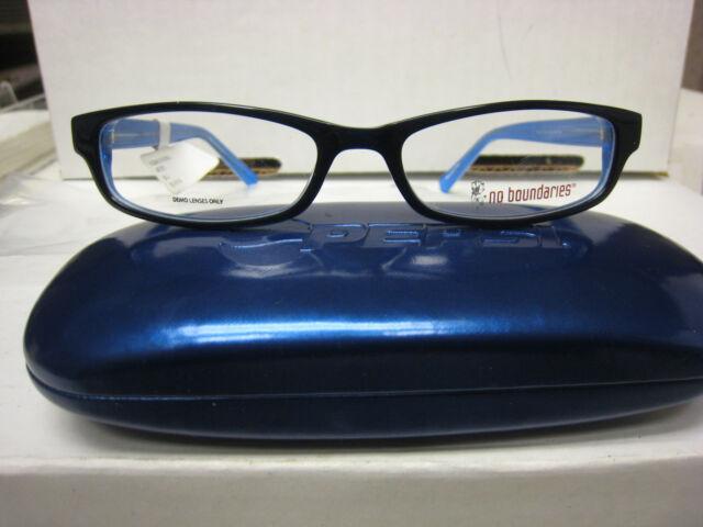 1 Pair No Boundaries Eyeglass Frames Style Liverpool BLK 50-18-140 ...