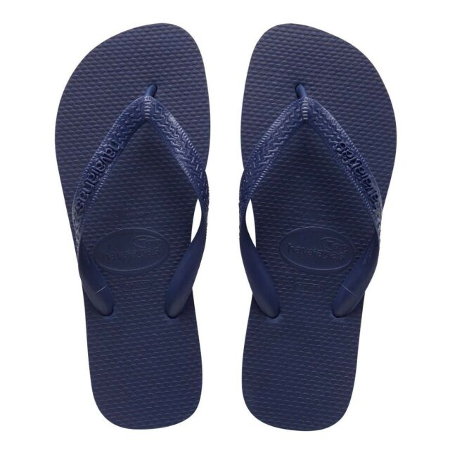 Havaianas Top Mens Flip Flops Thongs Sandals Navy Blue Size 12