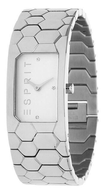 Esprit Damen Armbanduhr Houston Hexa silber ES107882001