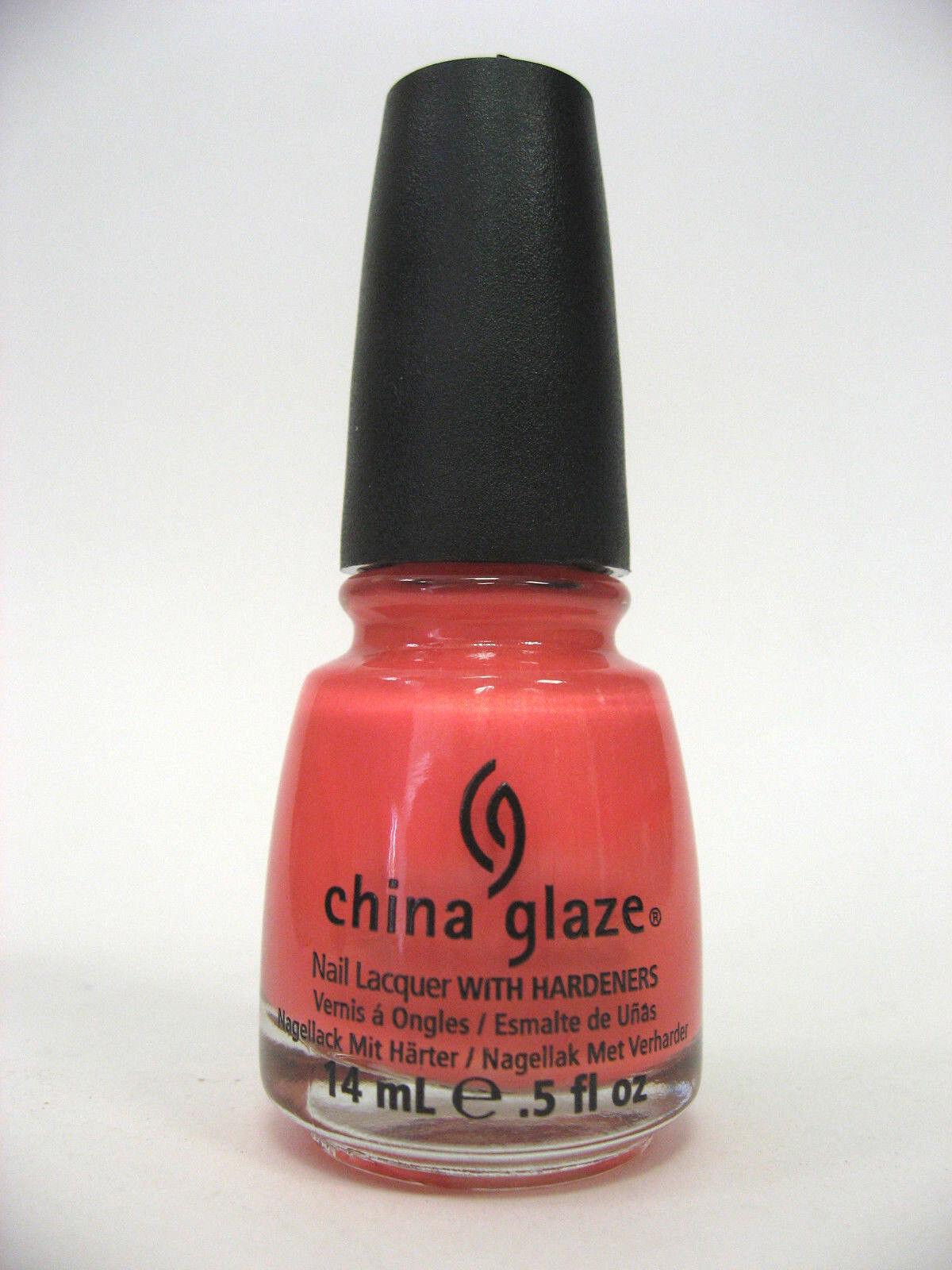 China Glaze Summer Neon Polish - Pink Plumeria | eBay