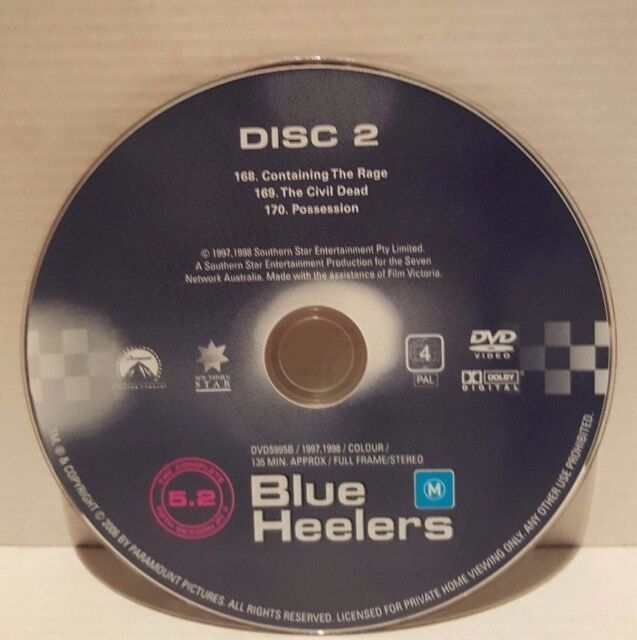 Blue Heelers : Season 5 : Part 2 Disc 2 Only - You are buying Disc 2 Only