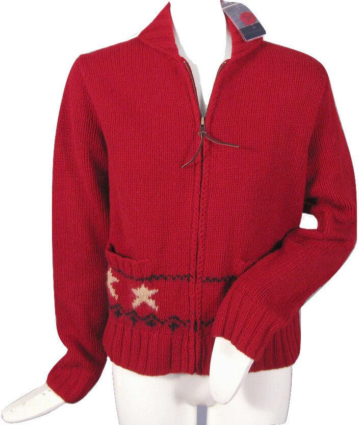 RARE Polo Ralph Lauren Womens Cardigan Sweater M *huge American ...
