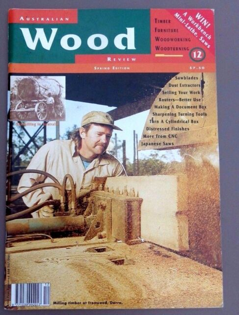 1996 AUSTRALIAN WOOD REVIEW Magazine Issue No. 12  TIMBER, WOODWORKING VGC