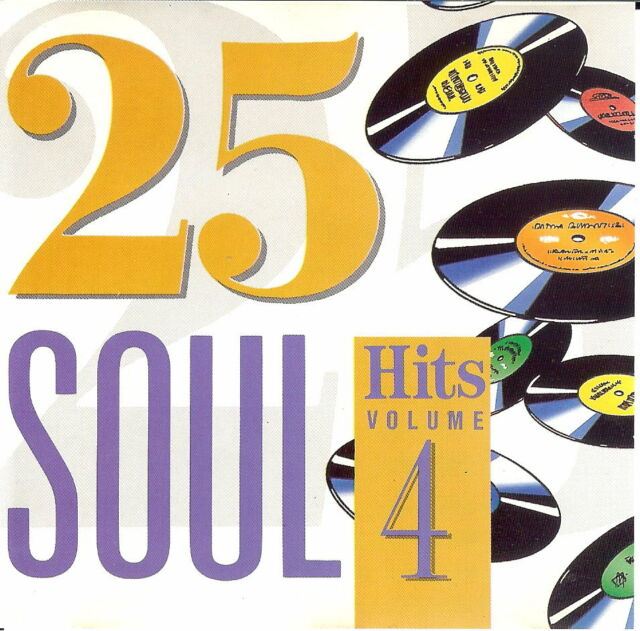 Various Artists - 25 Soul Hits Volume 4 - CD Album (1991)