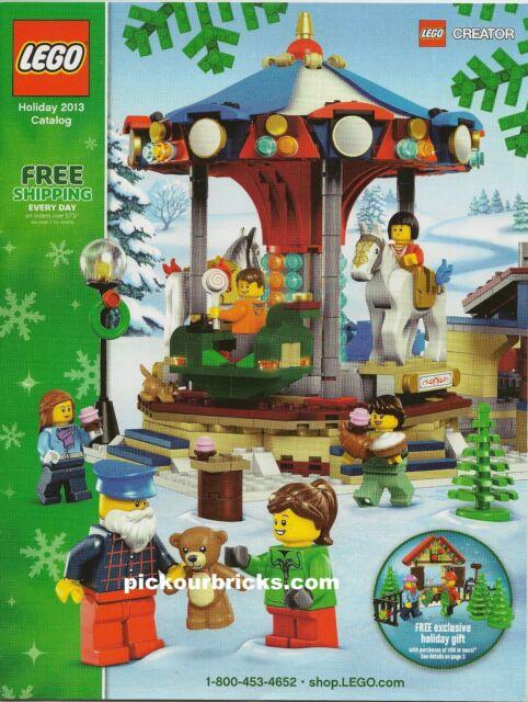 Lego Holiday 2013 Catalog Magazine Legends of Chima Ninjago Star ...