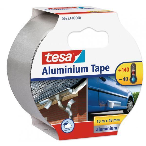 GP 0,99 €/m tesa Auto Aluminium Alu Tape 10m x 50mm Hohe Klebkraft Repair