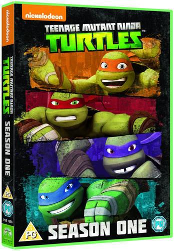 Teenage Mutant Ninja Turtles: Season 1 - First Mutations (Box Set) [DVD]