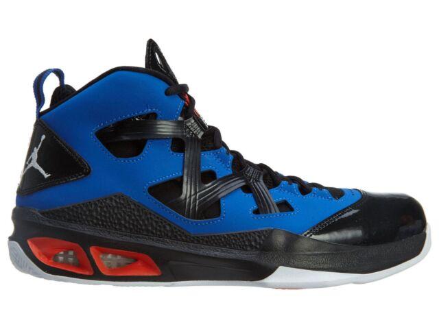878158deb9f ... sweden nike jordan melo m9 mens 551879 407 black game royal basketball  shoes size 9 a1c58
