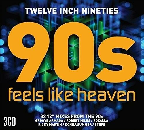 Various Artists - Twelve Inch 90S: Feels Like Heaven [New CD] UK - Import