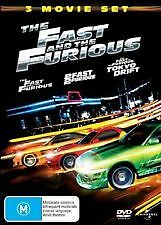 The Fast and the Furious / 2 Fast 2 Furious / The Fast and the Furious: Tokyo...