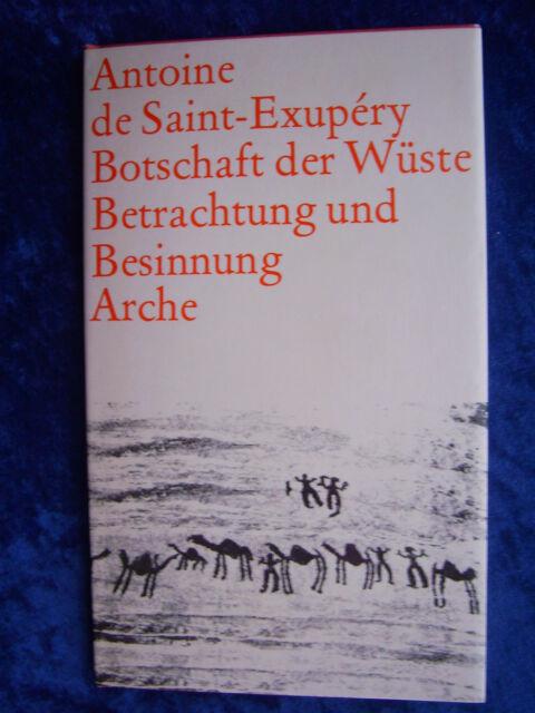 """""""Botschaft der Wüste - Betrachtung und Besinnung"""" von Antoine de Saint-Exupéry"""